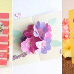 Faire une carte à boutons floraux pour la fête des Mères